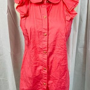 Juicy Couture Women's Pink Sleeveles Size 8